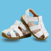 2018夏新款男童涼鞋兒童包頭防滑軟底1-3歲