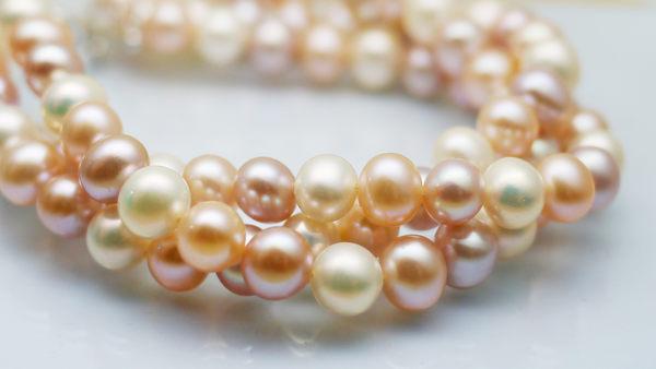 ╭☆ Silver shop ☆╯淡水珍珠 銀飾材質 手鍊 [ pb 001 ]