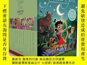 二手書博民逛書店英文原版罕見Goddess Girls Sparkling Collection 12冊盒裝 希臘神話女神系列 兒