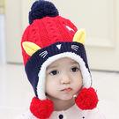 嬰兒帽子夏季6-12個月嬰幼兒毛線帽小孩...