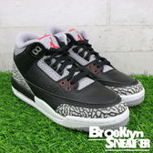 Nike Air Jordan 3 OG Black Cement  GS 大童 黑色 水泥  童鞋 (布魯克林) 2018/2月 854261-001