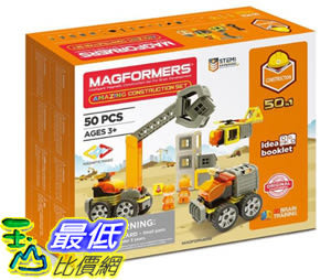 [COSCO代購] W124369 Magformers 磁性建構片-創意工程車 Magformers Amazing Construction Set