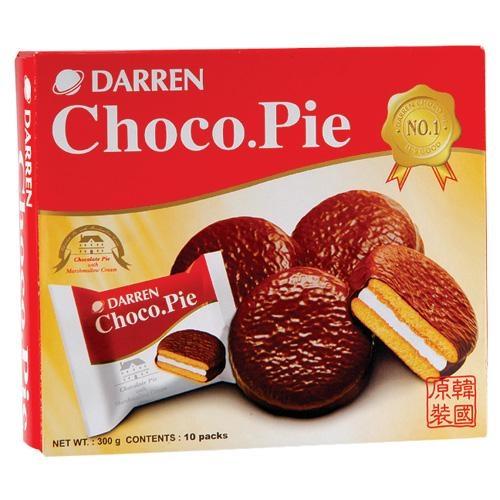 達人DARREN巧克力派30g x10入【愛買】