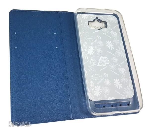 SNOOPY 彩繪皮套 [流星藍] ASUS ZenFone Max (ZC550KL) 史努比【正版授權】