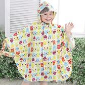 兒童雨衣雨披韓版防水雨披男女童小學生寶寶時尚可愛學生 蘿莉小腳ㄚ