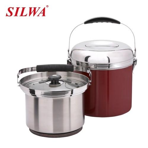 西華 7L兩用型免火再煮鍋(紅色) 型號ESW-007STR