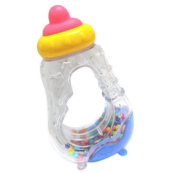 【奇買親子購物網】樂雅Toy Royal可消毒奶瓶造型手搖鈴