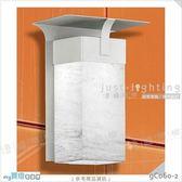 【戶外壁燈】E27 單燈。不鏽鋼 烤沙銀色 進口壓克力罩 歐式壁掛款※【燈峰照極my買燈】#gC060-2