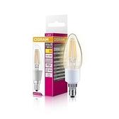 歐司朗4.5W LED調光型燈絲燈泡 蠟燭型