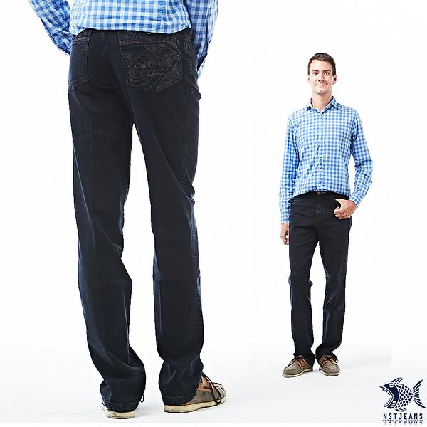 【NST Jeans】驚滔駭浪狂潮印花 牛仔男褲(中腰) 390(5709) 台製 紳士 直筒 重磅