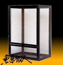 Oceana 宣龍【組合式爬蟲箱(DIY) 45*30*71cm】AL-437 兩棲 專業爬蟲箱 寵物缸 魚事職人