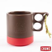 CHUMS 日本 露營野餐 保溫保冷馬克杯 棕/紅 ( 250ml) CH6201495127