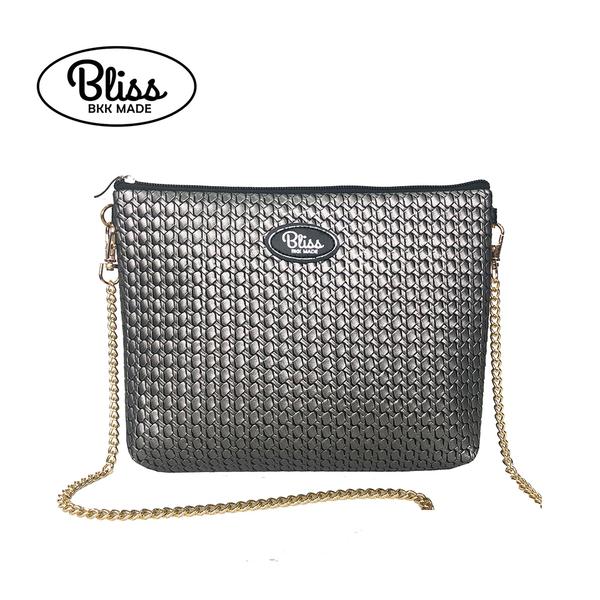 【現貨不用等】泰國Bliss BKK包 編織銀灰 4款背帶可選 現貨供應中