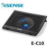 Esense E-C10 AIR角度可調大風扇筆電散熱墊