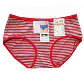 吉妮儂來 舒適條紋中低腰棉褲~6件組(隨機取色) 10810