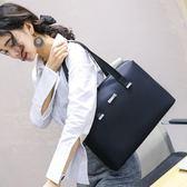 時尚商務大學生工作檔案A4紙大容量小檔夾資料袋展業辦公包女   LX  韓流時裳