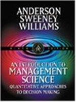 二手書 《An Introduction to Management Science: Quantitative Approaches to Decision Making》 R2Y ISBN:0324003218