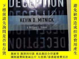 二手書博民逛書店The罕見Art of Deception【英文原版精裝】Y21144 KEVIN D.MITNICK&amp