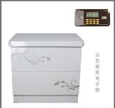 虎牌保險櫃指紋保險箱家用電子保管箱辦公床頭櫃可入牆 51cm特價(主圖款 電子鎖)