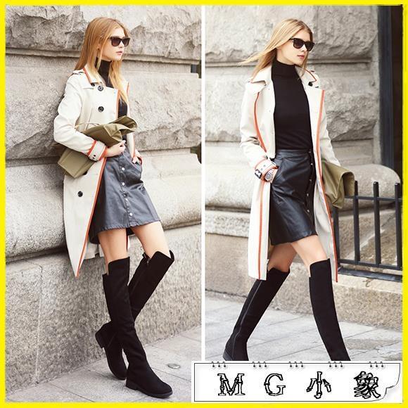 MG 膝上靴-過膝靴長靴靴子長筒彈力靴高筒鞋