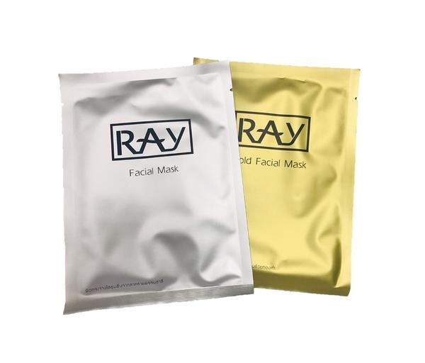 買9片送1片 泰國熱銷 RAY 蠶絲面膜-金色/銀色 35ml 單片 范冰冰/網紅推薦