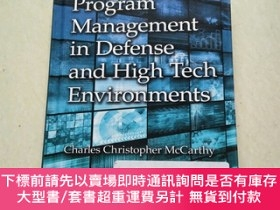 二手書博民逛書店Program罕見Management in Defense and High Tech Environments