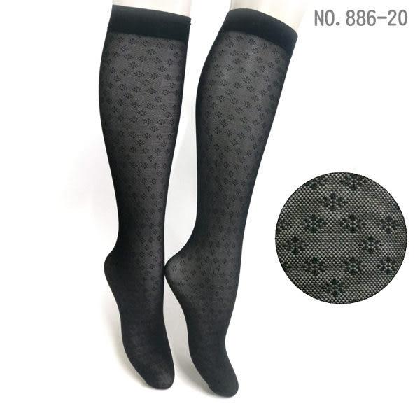 花紋中筒襪NO.886-20