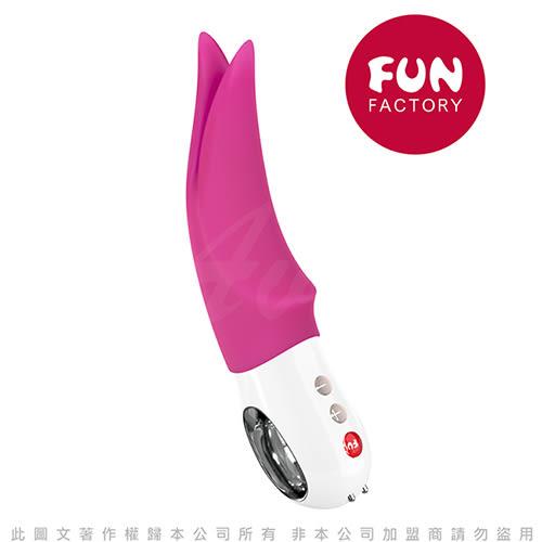 德國Fun Factory Volta 沃爾特 多功能仿舌外部震動器-玫紅 充電式 鴨嘴獸拍打按摩棒