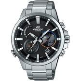 【台南 時代鐘錶 CASIO】卡西歐 EDIFICE  宏崑公司貨 EQB-600D-1A 藍芽傳輸智慧型錶款