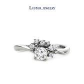 鑽石戒指 LUSTER JEWELRY - LESLEY18K鑽戒