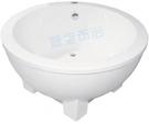 【麗室衛浴】BATHTUB WORLD  壓克力造型獨立缸 LS-1030C 150*150*60cm
