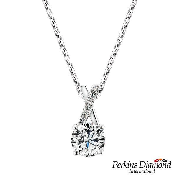 PERKINS 伯金仕 - GIA X Series 0.30克拉 E/VVS2 鑽石項鍊