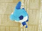【震撼精品百貨】San-X動物家族_魚~絨毛鎖圈-藍