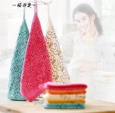 明信廚房用擦手毛巾掛式抹布百潔布洗碗布擦桌布不掉毛吸水【櫻花本鋪】
