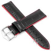 【台南 時代鐘錶 海奕施 HIRSCH】小牛皮錶帶 橡膠芯 Andy L 紅色 附工具 0922028050 複合式性能