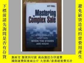 二手書博民逛書店Mastering罕見the Complex Sale: How