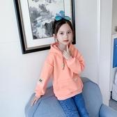 女童加厚連帽T恤2019秋冬裝新款網紅兒童裝女孩6洋氣7韓版8歲打底衫 Cocoa