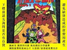二手書博民逛書店Doctor罕見Lunar and the Moon Crew Attack of the Ants Part 1