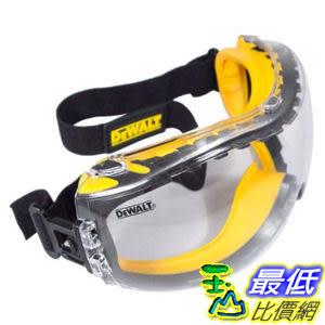 [美國直購] DEWALT DPG82-11 Concealer Clear Anti-Fog Dual Mold Safety Goggle B000RKQ1NI 護目鏡 安全眼鏡