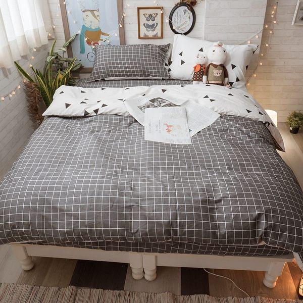 英格蘭  D2雙人床包薄被套四件組  純精梳棉  台灣製