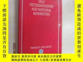 二手書博民逛書店外文書罕見musgrave seif determination and national minorites 共