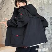 男士工裝外套2021新款韓版潮流ins春秋季帥氣休閒棒球上衣服男裝 夏季新品