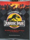 【書寶二手書T8/影視_ZAM】THE MAKING OF JURASSIC PARK_DON SHAY&JODY DU