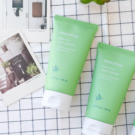 韓國 innisfree 綠茶保濕潔顏泡泡洗面乳 150ml 綠茶 潔面乳 洗顏乳 洗面乳 洗臉 清潔 悅詩風吟