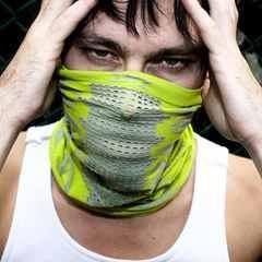 里和Riho 韓國NAROO X-Band 5+mask多功能超透氣面罩 頭巾 萊姆綠 防曬 抗UV