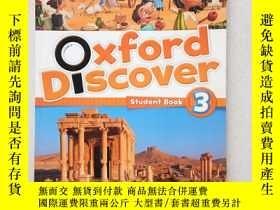 二手書博民逛書店Oxford罕見Discover 3 Student Book(英文原版)書內有點寫字Y11016 oxfor
