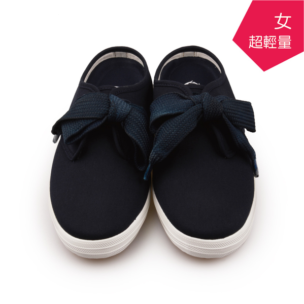 【A.MOUR 經典手工鞋】輕履系列 - 深藍 / 休閒鞋 / 平底鞋 / 嚴選帆布 / 柔軟透氣 / DH-6567