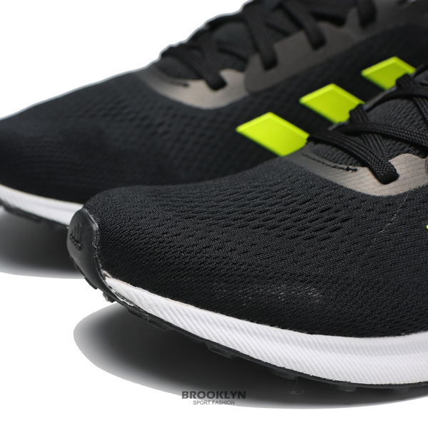 ADIDAS 慢跑鞋 ASTRARUN 黑 螢光綠 BOOST 運動 休閒 男 (布魯克林) EG5838