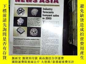 二手書博民逛書店JEWELLERY罕見NEWS ASIA march 2000Y