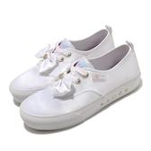 Skechers 休閒鞋 Bobs X Sailor Moon Marley 美少女戰士 白 女鞋 緞帶 聯名款 帆布鞋【ACS】 66666268WHT
